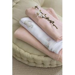 Σετ πάνες αγκαλιάς NIMA Bebe Bunny Love 120 x 120 cm