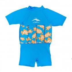 Σωσίβιο - ολόσωμο μαγιό Konfidence Floatsuit Clownfish 4-5 ετών