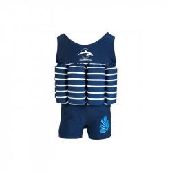 Σωσίβιο - ολόσωμο μαγιό Konfidence™ Floatsuit Breton 4-5 ετών