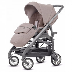 Καρότσι Inglesina Trilogy One Handle Alpaca Beige - Titanium Slate