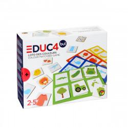 Ξύλινο bingo με χρώματα Oxybul EDUC4bul