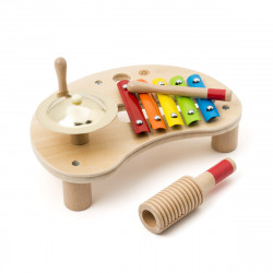 Μικρό ξύλινο τραπέζι με μουσικά όργανα Oxybul TEMPObul