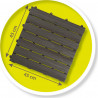 Σετ 6 πλάκες κατασκευής δαπέδου για σπιτάκι Smoby