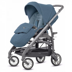 Καρότσι Inglesina Trilogy One Handle Artic Blue - Titanium Slate