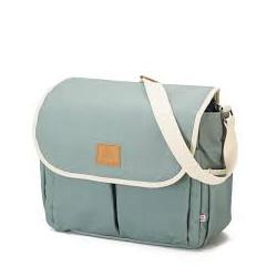 My Bags τσάντα θηλασμού με θήκη - αλλαξιέρα Happy Family Aquamarine