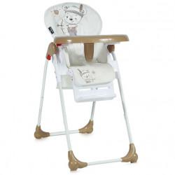 LoreLLi® καρέκλα φαγητού Oliver Beige India Bear