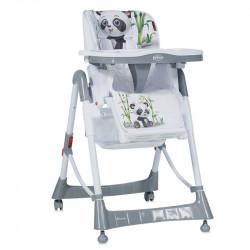 LoreLLi® καρέκλα φαγητού Primo Grey Panda