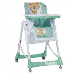 LoreLLi® καρέκλα φαγητού Primo Green Cute Bear