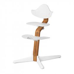 Σετ κάθισμα, υποπόδιο και βάση εδάφους καρέκλας Nomi Highchair White