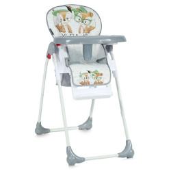 LoreLLi® καρέκλα φαγητού Oliver Grey Foxes