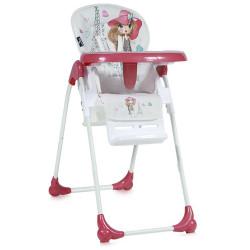 LoreLLi® καρέκλα φαγητού Oliver Pink Girl