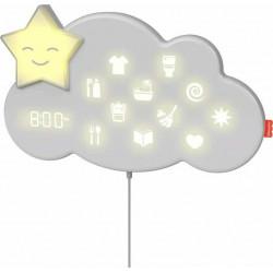 Σύστημα εκμάθησης ρουτίνας ύπνου Fisher-Price® Lumalou™ με Smart Connect™ GWM53