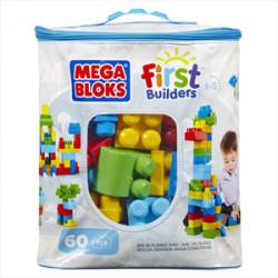 Τσάντα με 60 τουβλάκια MEGA® BLOKS DCH55