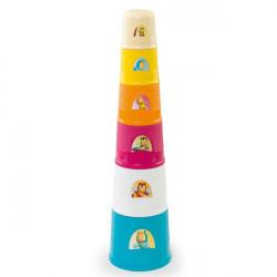 Πύργος στοίβαξης με κυπελλάκια Smoby Cotoons Magic Tower