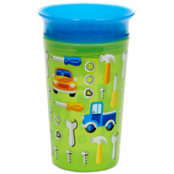 Munchkin κύπελο Miracle Deco Sippy Green Car 266 ml