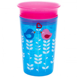Munchkin κύπελο Miracle Deco Sippy Blue Bird 266 ml