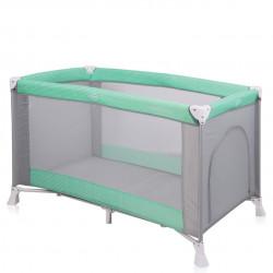 Παρκοκρέβατο LoreLLi® Verona Green - Grey