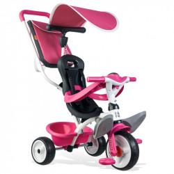 Τρίκυκλο ποδήλατο Smoby Baby Balade Pink
