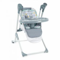 LoreLLi® ηλεκτρική κούνια - ριλάξ και καρέκλα φαγητού Ventura Grey