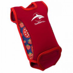 Ισοθερμικό φορμάκι - μαγιό Konfidence™ Babywarma Wetsuit Strawberry 12-24 μηνών