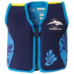 Σωσίβιο - γιλέκο Konfidence™ Original Jacket Navy Blue Palm 18-36 μηνών