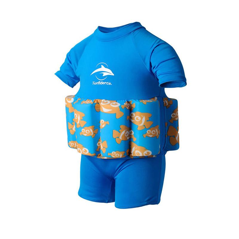 Σωσίβιο - ολόσωμο μαγιό Konfidence™ Floatsuit Cyan Clownfish 2-3 ετών ... 8fe7fac6bd8