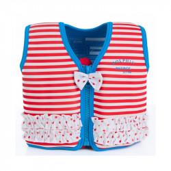 Σωσίβιο - γιλέκο Konfidence™ Original Jacket Marthas Red Stripe 4-5 ετών
