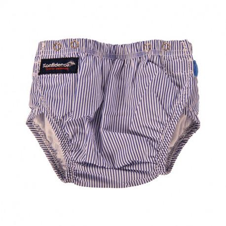 Πάνα - μαγιό Konfidence™ Aquanappy Blue Stripe - allforbabies.gr dc543853424