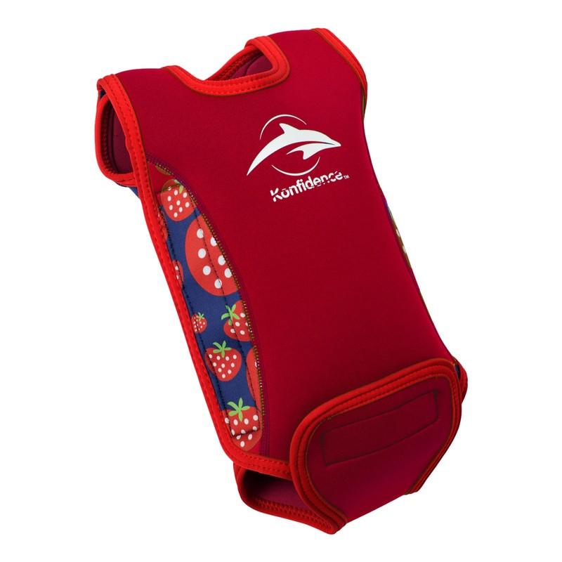 Ισοθερμικό φορμάκι - μαγιό Konfidence™ Babywarma Wetsuit Strawberry 6-12  μηνών 392430f867d