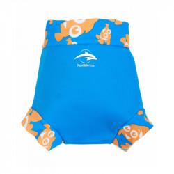 Κάλυμμα πάνας - μαγιό Konfidence™ NeoNappy Cyan Clownfish 9-12 μηνών