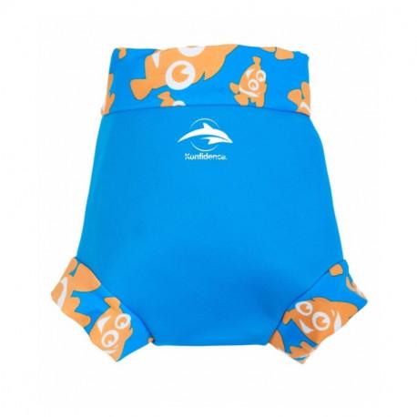 b26aa1eb769 Κάλυμμα πάνας - μαγιό Konfidence™ NeoNappy Cyan Clownfish 12-18 μηνών