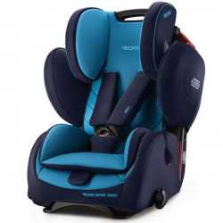 Κάθισμα αυτοκινήτου Recaro Young Sport Hero Performance Xenon Blue 9-36 kg