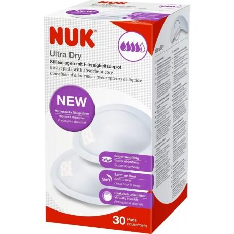 Nuk επιθέματα στήθους Ultra Dry 30 τεμάχια