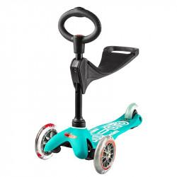 Τρίκυκλο παιδικό πατίνι Micro® Mini 3in1 Deluxe Aqua