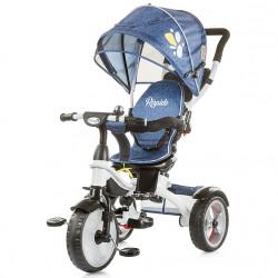 Τρίκυκλο ποδήλατο Chipolino Rapido Blue Indigo