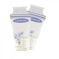 Lansinoh σακουλάκια αποθήκευσης μητρικού γάλακτος 25 τμχ