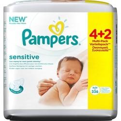 Μωρομάντηλα Pampers® Sensitive Mega 4+2 ΔΩΡΟ