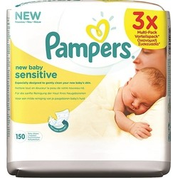 Μωρομάντηλα Pampers® New Baby Sensitive οικονομική συσκευασία