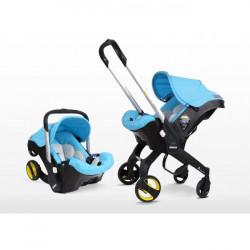 Καρότσι και κάθισμα αυτοκινήτου Simple Parenting Doona+ Turquoise