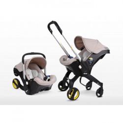 Καρότσι και κάθισμα αυτοκινήτου Simple Parenting Doona+ Beige