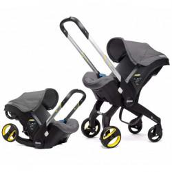Καρότσι και κάθισμα αυτοκινήτου Simple Parenting Doona+ Grey