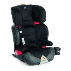 Κάθισμα αυτοκινήτου Chicco Oasys 2-3 Fix Plus Evo Jet Black 15-36 kg