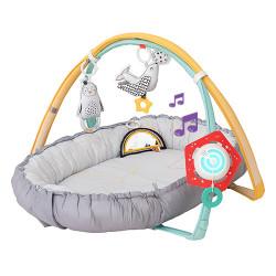 Φωλιά και γυμναστήριο Taf™ Toys Musical Newborn Nest & Gym