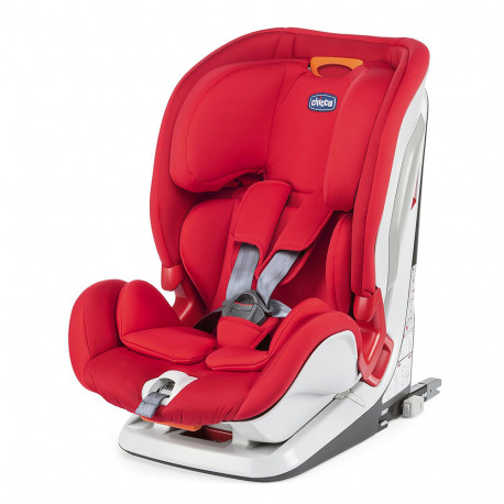 Κάθισμα αυτοκινήτου Chicco YOUniverse 123 Fix Red Passion 9-36 kg