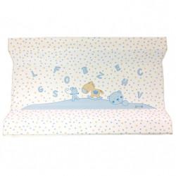 Αλλαξιέρα σκληρή X-treme Baby Blue Letters & Stars 80 x 50 cm