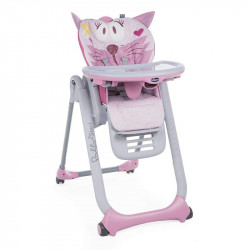Chicco κάθισμα φαγητού Polly 2 Start Miss Pink