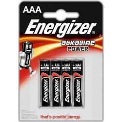ENERGIZER ΜΠΑΤΑΡΙΕΣ 4ΤΜΧ ALKALINE POWER AAA FSB4