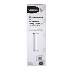 Clippasafe προέκταση πόρτας ασφαλείας Swing Shut 18 cm