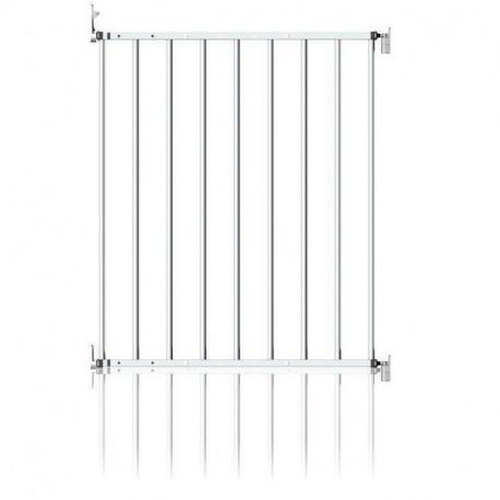 Clippasafe μεταλλική πόρτα ασφαλείας No Trip, επεκτεινόμενη 60-107 cm