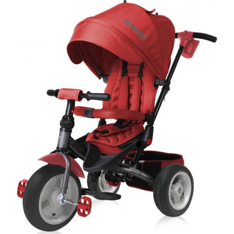Τρίκυκλο ποδήλατο LoreLLi® Jaguar Air Wheels Red